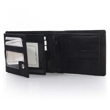 Men Elegant Designer Genuine Leather Black Wallet Deepawali Gift 183