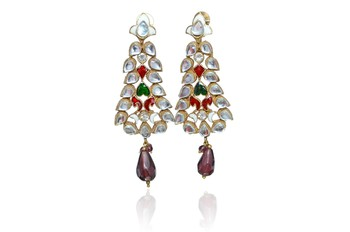 Fashion sweet crystal Rhinestone  earrings