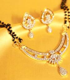 Buy Real Diamond Look Mangalsutra mangalsutra online