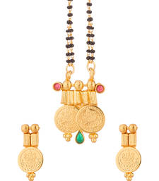 Buy Double String Mangalsutra Set mangalsutra online