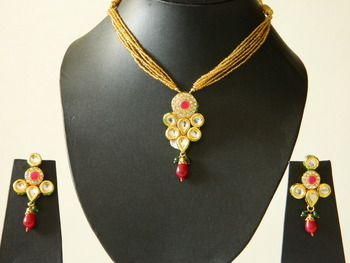 Fashion Bridal Bollywood Kundan Pendants