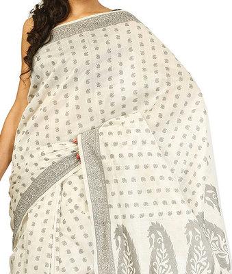 Pure Chanderi Cotton  Banarasi patola saree