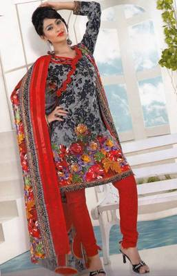 Dress material crepe designer prints unstitched salwar kameez suit d.no AP811