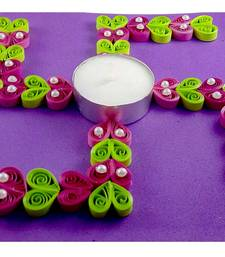 22 OFF Buy Hand Made Paper Quilling Floating Diwali Diya