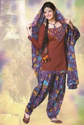 Dress material lawn cotton prints unstitched salwar kameez suit d.no 2010