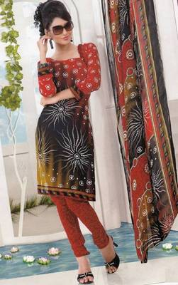 Dress material crepe designer prints unstitched salwar kameez suit d.no AP803