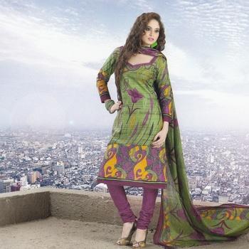 Dress material cotton designer prints unstitched salwar kameez suit d.no 9010