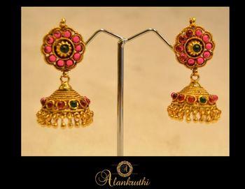 New Temple Jewellery - Jhumka 5