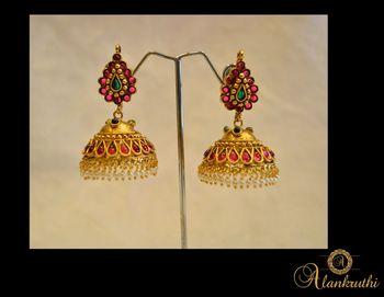 New Temple Jewellery - Jhumka 7