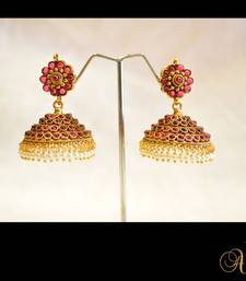 Buy New Temple Jewellery - Jhumka 8 jhumka online