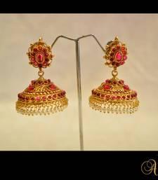 Buy New Temple Jewellery - Jhumka 9 jhumka online