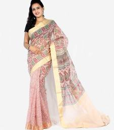 Buy Oraganza cotton fancy banarasi  Half Half saree cotton-saree online