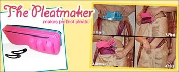 Amazing saree pleatmaker