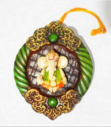 Buy Clay model Hanging Ganesha resin material dummy online