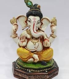 Buy Krishna ganesha resin material multicolour dummy online
