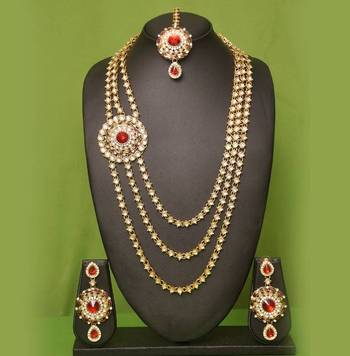 New styles Heavy Kundan Necklace Set