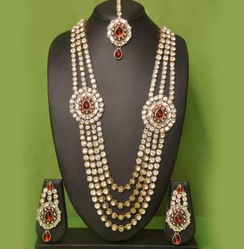 maharani Kundan jewellery set By Swarajshop