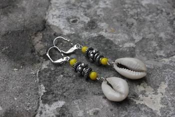 Cowri Shell Earrings