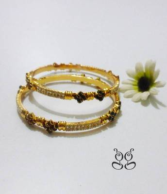 Gold plated Bangles 2' 6""