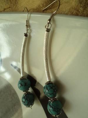 Silver Tube Earrings-010218