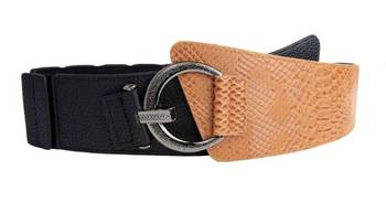 Just Women - Sandy Brown Womens Leather Belt