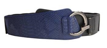Just Women - Midnight Blue Womens Leather Belt