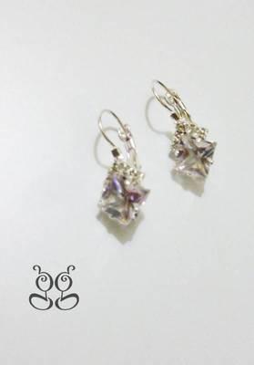 Fashion Earrings- White