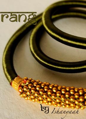 Elegant Silk Necklace