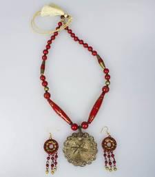Terracotta Dhokra Jewellery Set terracotta-jewelry