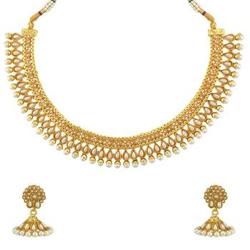 Ethnic Indian Bollywood Necklace Set Festive Necklace Set