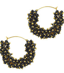 Ethnic Indian Bollywood Fashion Jewelry Set Traditional Hoops Earrings