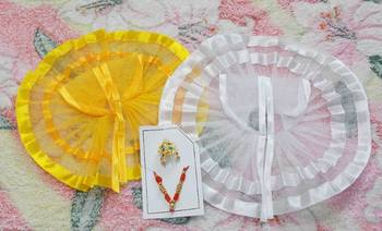 8'' Summer Cool Poshak With Shringar