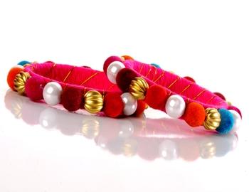 Multicolour Balls Fashion Kada