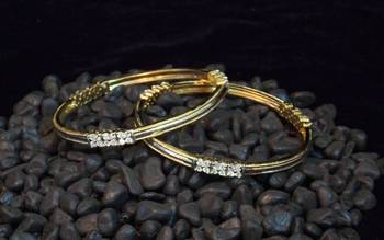 Beautiful and elegant Zircon bangles
