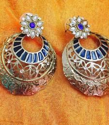 Buy Traditional chand bali earrings danglers-drop online