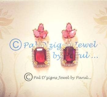 Titlli Earings- Red
