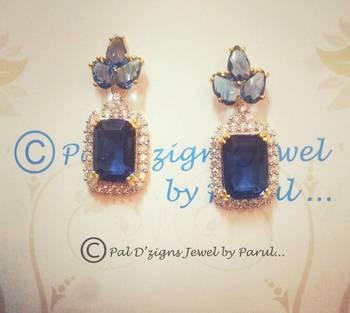 Titlli Earings- Blue
