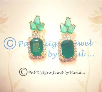 Titlli Earings- Green