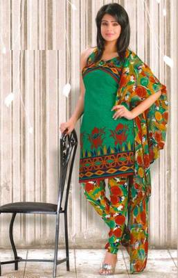 Crepe dress material elegant designer unstitched salwar suit d.no RG1027