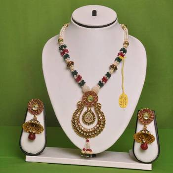 Elegant White Color Necklace By Swarajshop