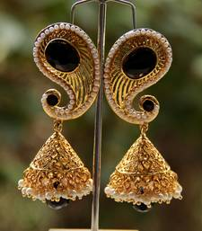 Buy BLACK GOLD PAISELY JUMKA jhumka online