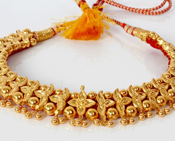 maharashtrian traditional necklace