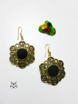 Fashion Earring - Black