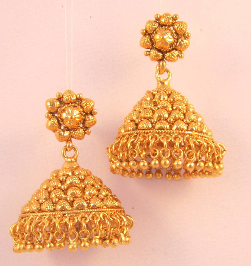 Buy EARRINGS JHUMKA CH...