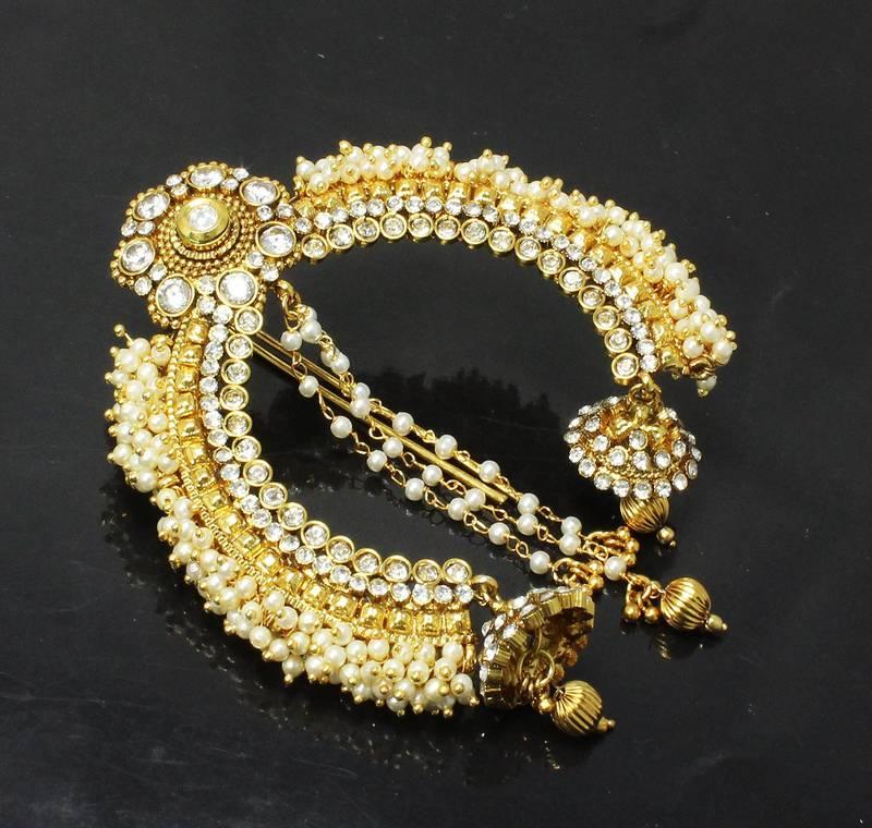 Buy Pearl Amp Stone Design Indian Wedding Designer Hair Pin