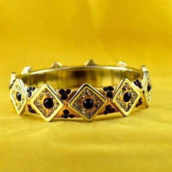 hand made cold lakh brass bangle size-2.6,2.8