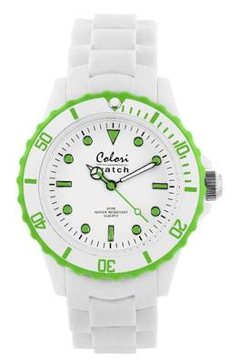 Colori-Summer White Lime Green