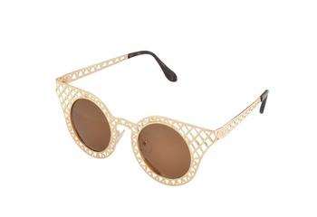 Dazzle Gold Sunglasses