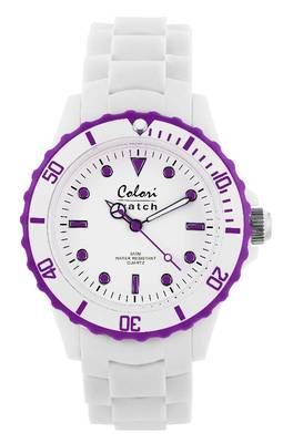 Colori-Summer White Purple