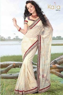 Saree Net Party Wear
